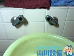 東大阪市吉田本町で洗濯蛇口の解体撤去は山川設備にお任せ下さい。