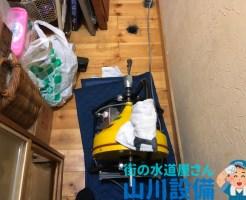 東大阪市宝持で掃除点検口からの通管作業は山川設備にお任せ下さい。