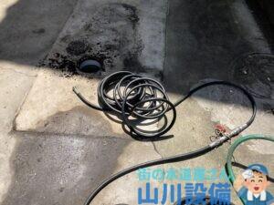 東大阪市中鴻池町で高圧洗浄機を使って洗管作業するなら山川設備にお任せ下さい。