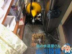 大阪府東大阪市吉松で通水テストしながら通管作業するなら山川設備に連絡下さい。