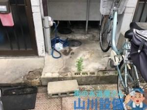 大阪府寝屋川市高柳の排水マスが溢れたら山川設備に連絡下さい。