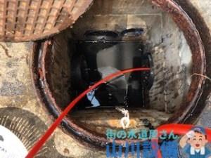大阪府大阪市東成区大今里南で高圧洗浄機を使った洗管作業するなら山川設備に連絡下さい。