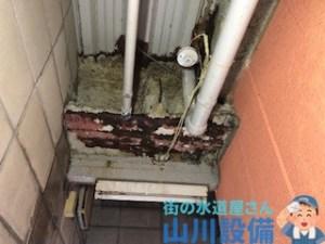 大阪府大阪市東住吉区矢田の漏水調査は山川設備にお任せ下さい。