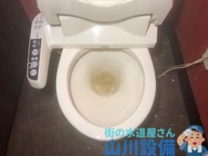 大阪府大阪市東淀川区豊新でトイレが詰まったら山川設備にお任せ下さい。