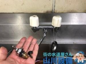 大阪府藤井寺市岡の店舗の蛇口修理は山川設備にお任せ下さい。