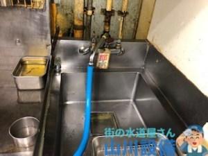大阪府門真市一番町のスパウトにホースを繋げて通水テストをするなら山川設備に連絡下さい。