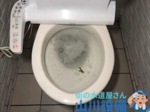 大阪府大阪市天王寺区悲田院町の大便器が溢れそうになったら山川設備にお任せ下さい。