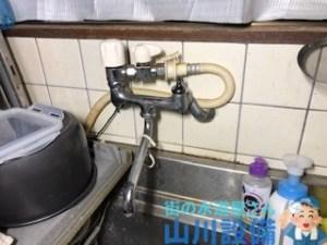 大阪府大阪市東住吉区駒川でスピンドルとコマパッキンを交換しても水漏れが止まらなかったら山川設備にお任せ下さい。