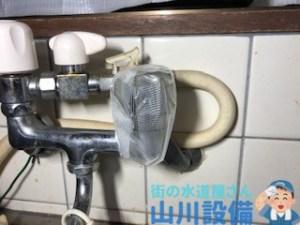 大阪府大阪市東住吉区駒川の吐水口から水が止まらなくなったら山川設備にお任せ下さい。