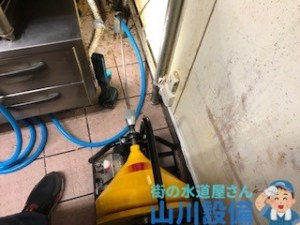大阪府門真市一番町で通水テストをしながら通管作業するなら山川設備に連絡下さい。