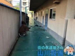 大阪府八尾市若林町で高圧洗浄するなら山川設備に連絡下さい。