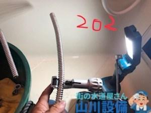 大阪府八尾市若林町のフレキ管の加工施工は山川設備にお任せ下さい。