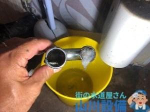 兵庫県尼崎市神田北通りでU管の分解清掃は山川設備にお任せ下さい。