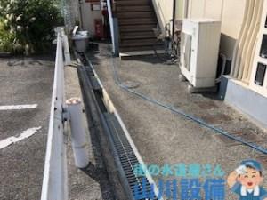 奈良県奈良市押熊町の高圧洗浄作業は山川設備にお任せ下さい。