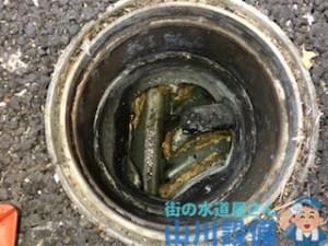 奈良県奈良市押熊町の排水桝の洗浄清掃は山川設備にお任せ下さい。