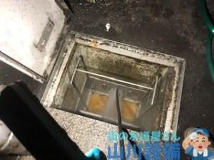 大阪府岸和田市八阪町でグリストラップから洗管作業するなら山川設備に連絡下さい。