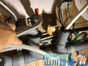 大阪府大阪市淀川区塚本の排水管に防臭キャップを新設するなら山川設備に連絡下さい。