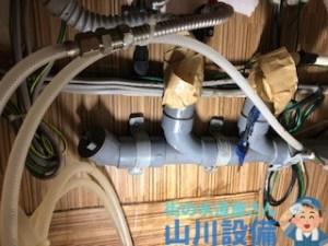 大阪府大阪市淀川区塚本の排水管固定作業は山川設備にお任せ下さい。