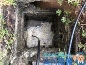 奈良県橿原市葛本町で最終桝を高圧洗浄するなら山川設備に連絡下さい。