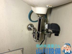 大阪市北区天神橋の金属製の排水パイプの加工施工は山川設備にお任せ下さい。
