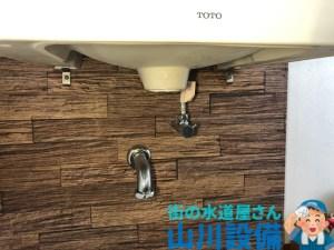 大阪市住之江区足立の排水パイプの脱着清掃は山川設備にお任せ下さい。