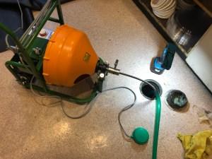交野市私部西で電動トーラー作業は山川設備にお任せ下さい。