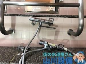 大和郡山市筒井町のシャワー水栓の取り付けは山川設備にお任せ下さい。