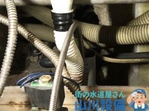 橿原市久米町芝田でワイヤーを使った通管作業は山川設備にお任せ下さい。