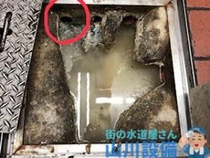 大阪市西成区岸里で排水管の詰まりは山川設備にお任せ下さい。