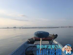 琵琶湖でバス釣りするならオリーブさんがお勧め