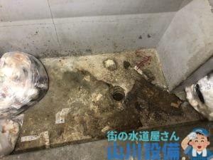 大阪市鶴見区横堤でゴミ庫の排水詰まりは山川設備にお任せ下さい。