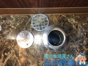 草津市新浜町で通水テストをしながらの通管作業は山川設備にお任せ下さい。