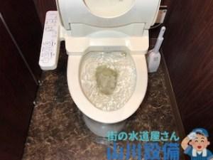 草津市新浜町でトイレを流すと溢れそうになるなら山川設備にお任せ下さい。