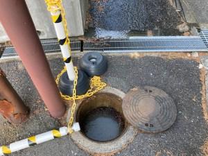 奈良市押熊町で排水桝が詰まったら山川設備にお任せ下さい。