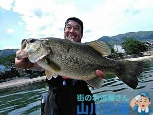 湖西のバス釣りは山川設備にお任せ下さい。