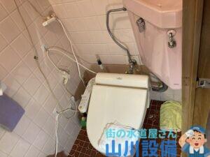 東大阪市上小阪のトイレの水漏れは山川設備にお任せ下さい。