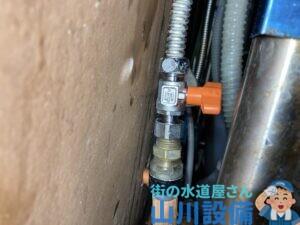 生駒市小明町でフレキ管の接続は山川設備にお任せ下さい。