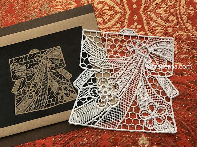 KIMONO-Needle lace