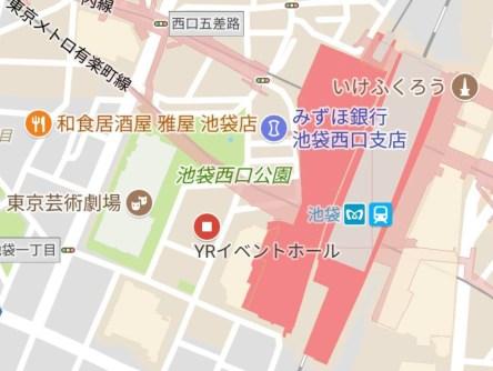 ikebukuro YR Hall 23634372_1510795409014027_1626924488_o