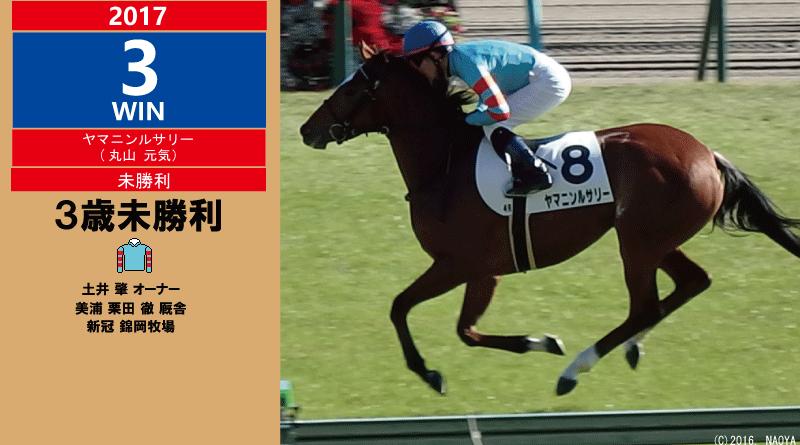 2017年3勝目・ヤマニンルサリー