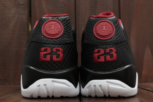 AIR JORDAN 9 RETRO LOW BLACK/GYM RED-WHITE 832822-001