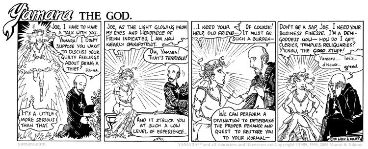 Yamara The God, Part 1: Joe