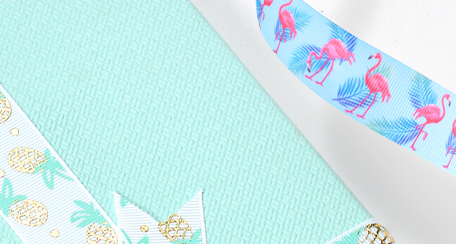 pineapple ribbon