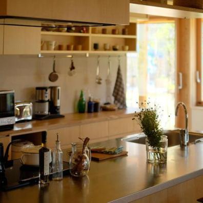 家族皆で料理をしたくなるアイランドキッチン