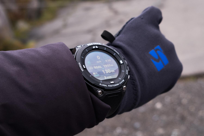 WSD-F20を登山で使用する