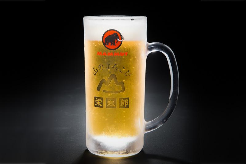 日本で唯一マムートビールジョッキのある料理宿