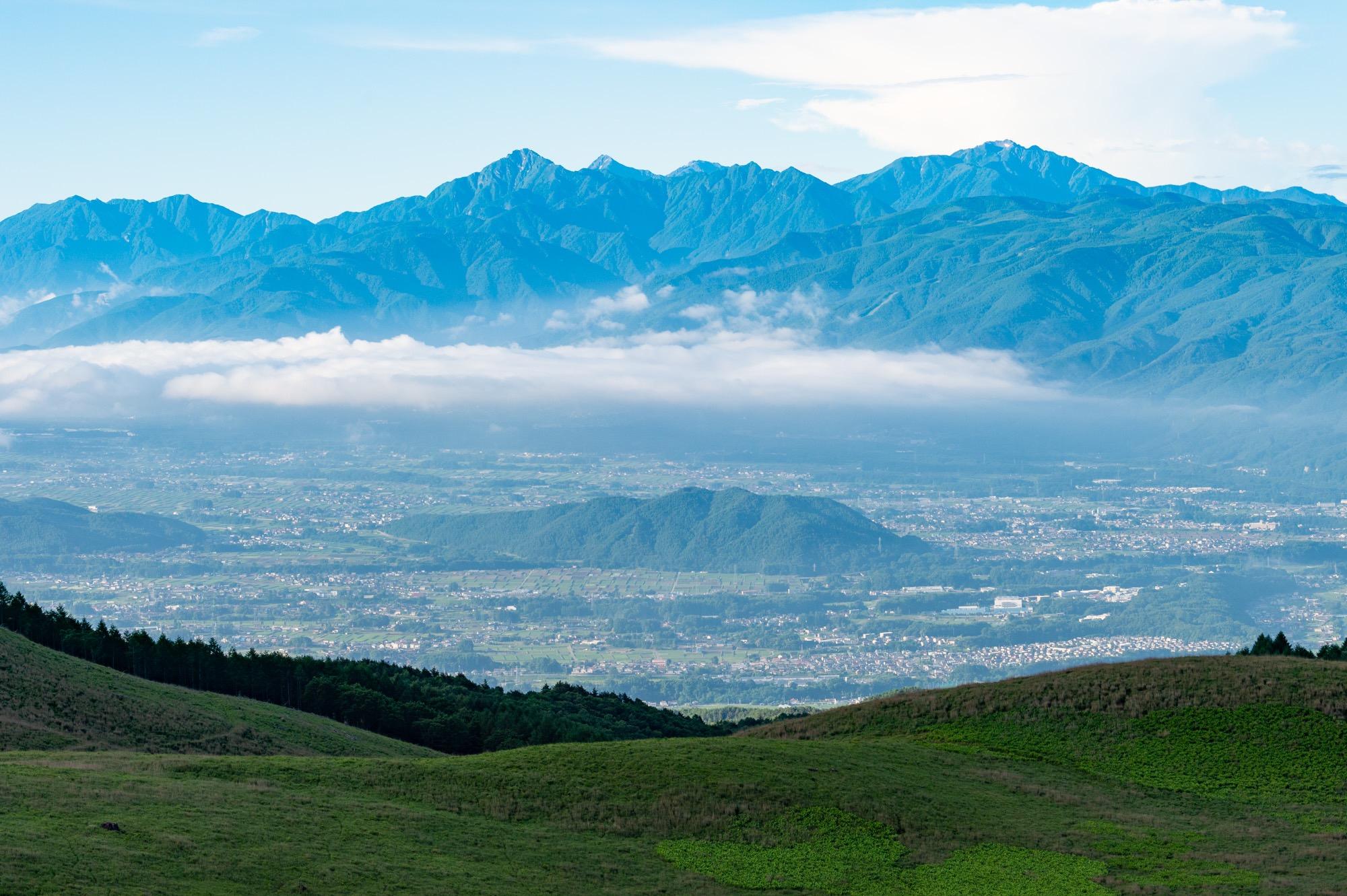 車山山頂からの展望