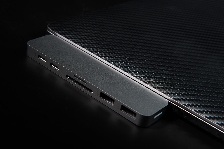 Macbookpro2017用Hyper Drive