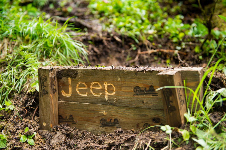 Jeepの階段