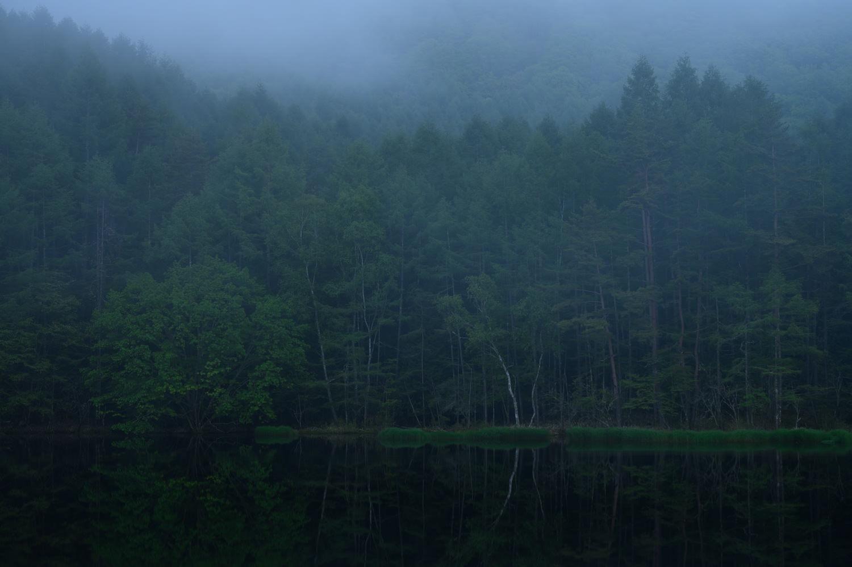 霧を入れたリフレクション